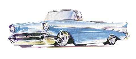 480x209 Chevy Drawing (1957)