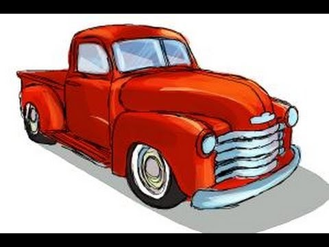 480x360 How To Draw A Chevy Truck