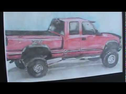 480x360 Drawing Of My 1997 Chevy Z71 Silverado Drawing live Truck