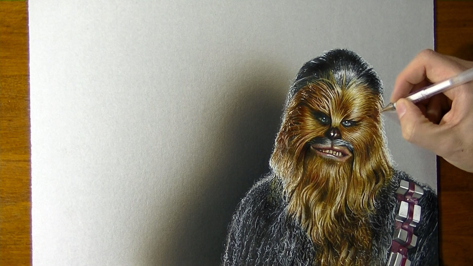 Chewbacca Drawing at GetDrawings Free for personal