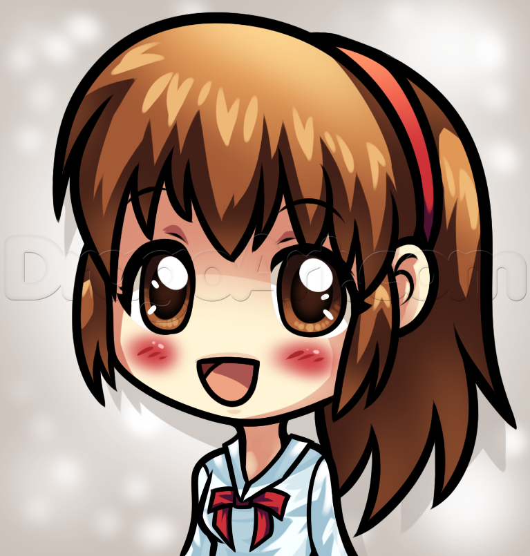 Chibi Anime Girl Drawing At Getdrawings Com Free For Personal Use
