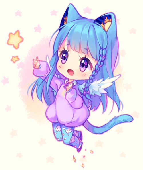 Chibi Anime Girl Drawing At Getdrawings Com Free For