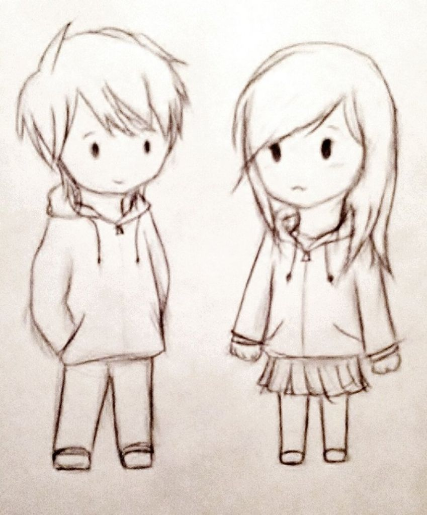 849x1024 A Cute Couple Sketches Cute Couple Sketches To Draw Cute Couple