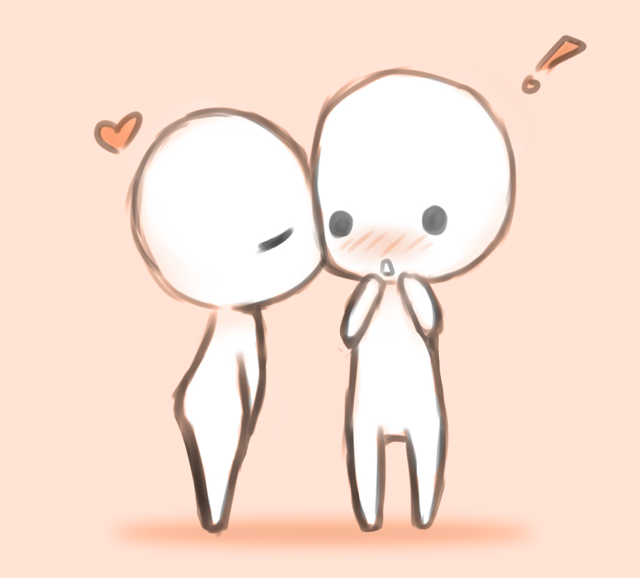 920x832 Chibi Couple Doodle By Chaopudding7453