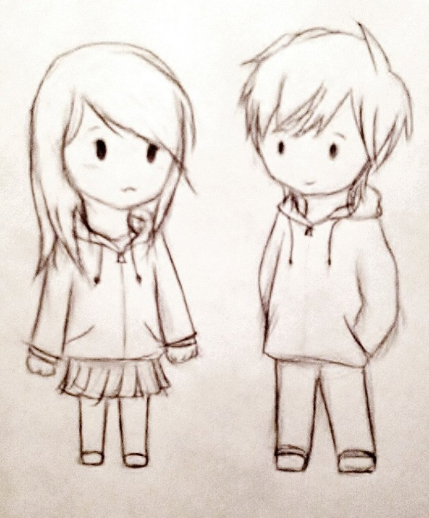 849x1024 Cute Couple Sketches To Draw In Color Cute Couple Sketches To Draw