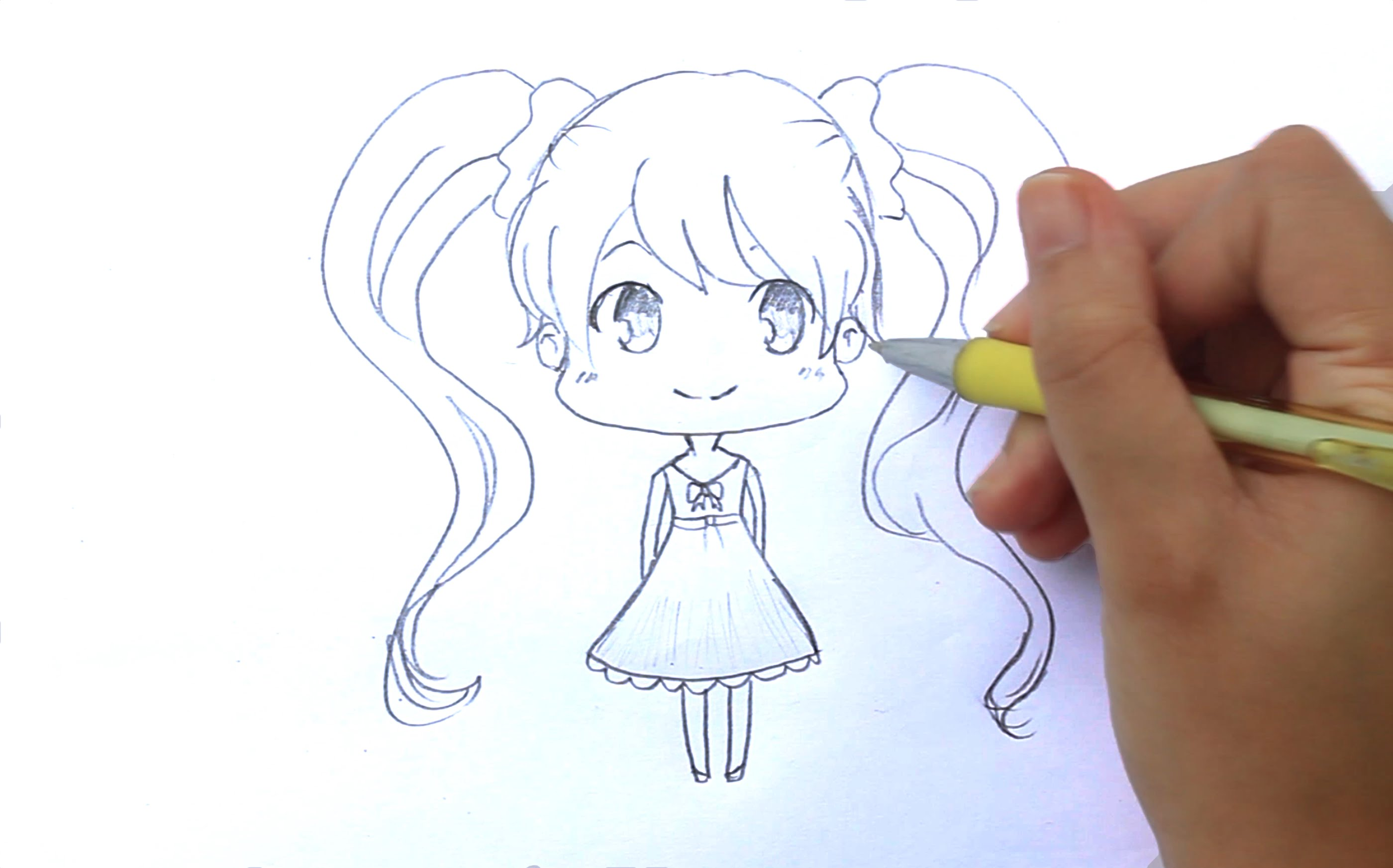Zombie Princess Coloring Pages : Chibi drawing at getdrawings.com free for personal use chibi