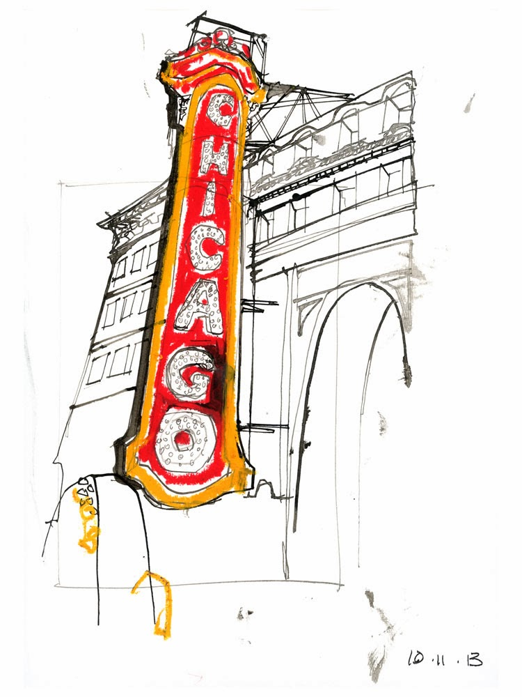 750x1000 Chicago! Urban Sketchers