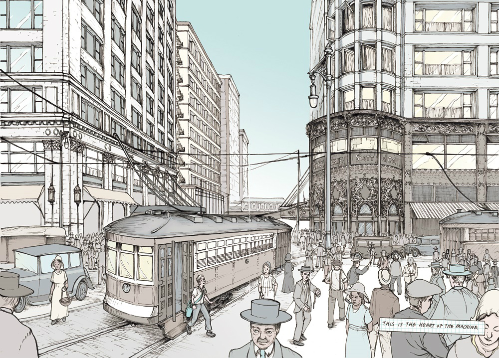 1000x718 Chicago Architecture Foundation Releases Graphic Novel On Urban