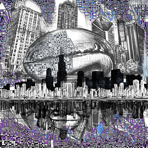 300x300 Chicago Bean Art