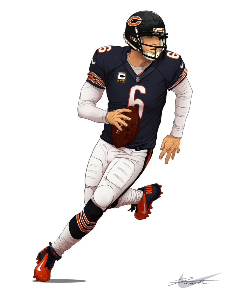 786x1017 Chicago Bears Jay Cutler 6 By Djcoulz