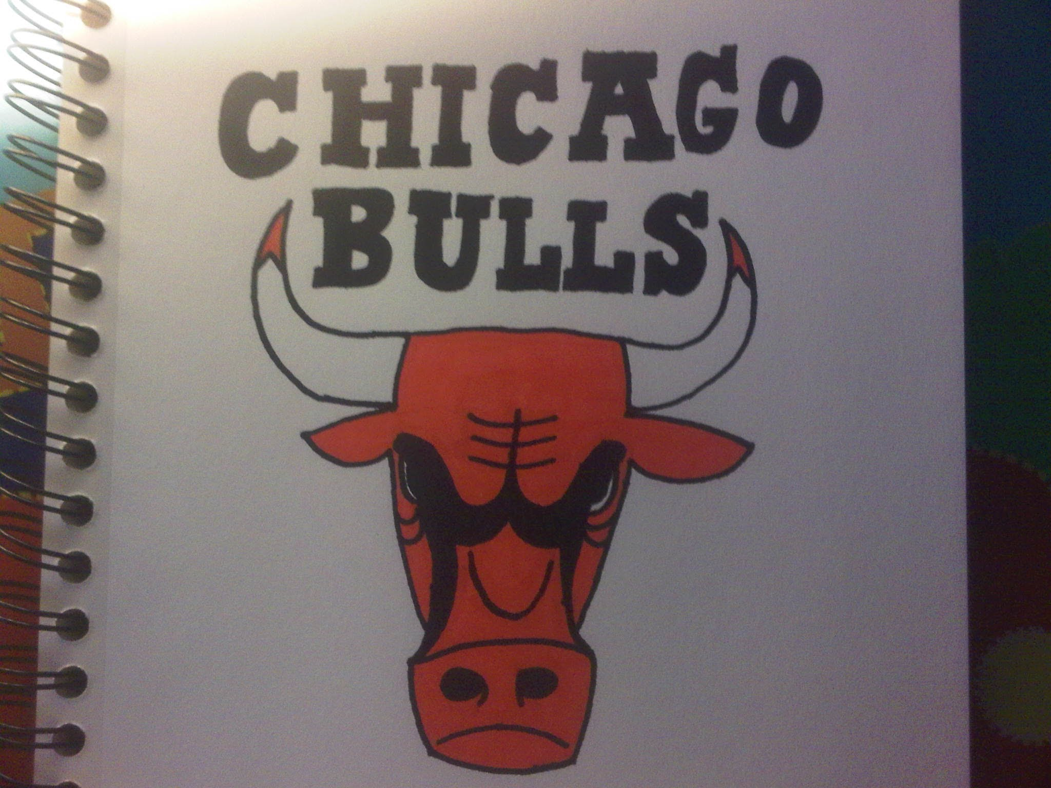 2048x1536 How To Draw The Chicago Bulls Logo