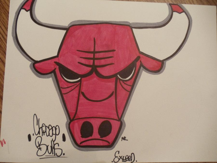 900x675 Chicago Bulls Logo By Casper21