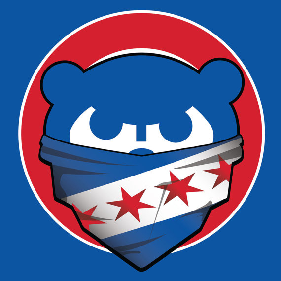 570x570 Chicago Cubs City Of Chicago Bandana City Flag 4x4