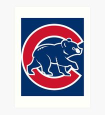210x230 Chicago Cubs Drawing Art Prints Redbubble