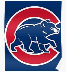 210x230 Chicago Cubs Drawing Posters Redbubble