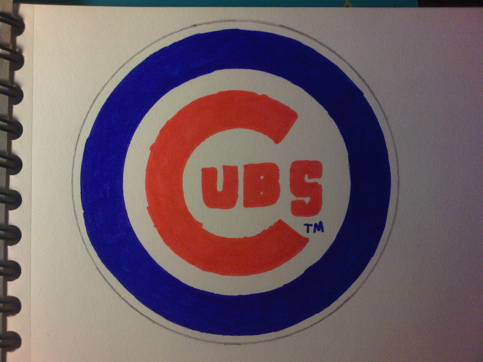 2048x1536 How To Draw The Chicago Cubs Logos