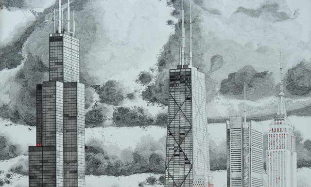 640x386 Chicago Architectural Illustration Featured In The Happiness