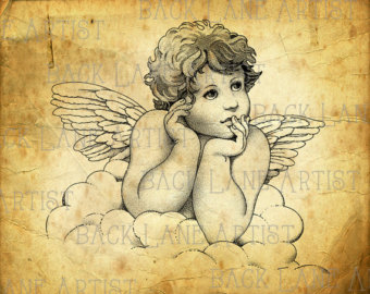 340x270 Angel Art Etsy