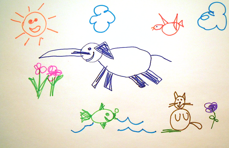 800x520 Child Drawing Images 26057
