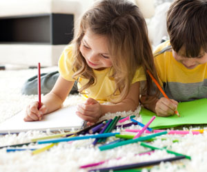 300x250 Children's Drawings May Indicate Later Intelligence Association