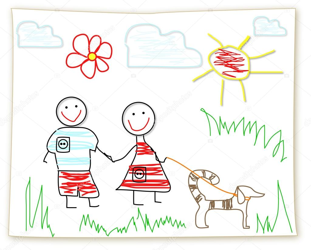 1024x823 Clipart Childs Drawing Stock Photo Firststar