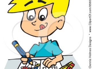 320x240 Kid Drawing Clip Art Child Drawing Clipart Cool Pics To Color