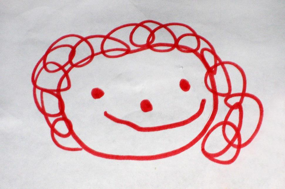 970x646 Get Free Stock Photo Of Child's Drawing Of Happy Face Online