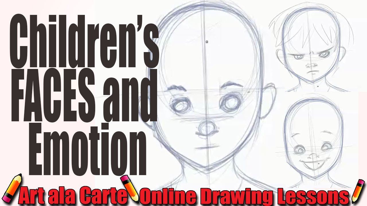 1280x720 How To Draw Children's Faces And Expressions