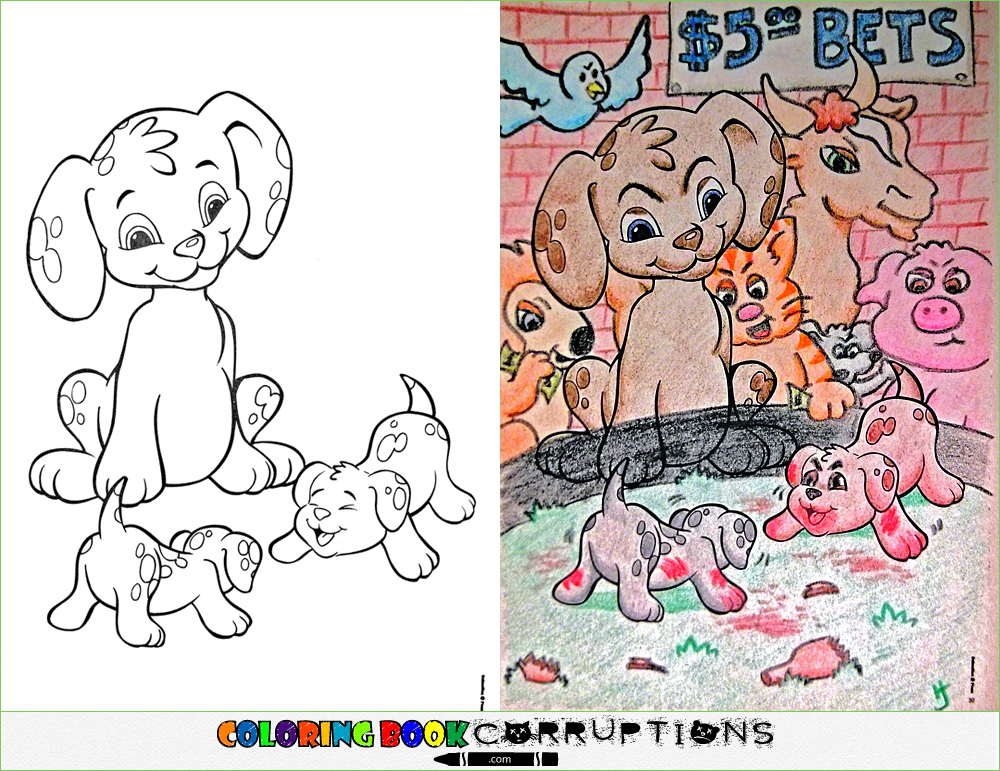 1000x771 Coloring Book Corruptions Is The Best And Worst Thing To Ever