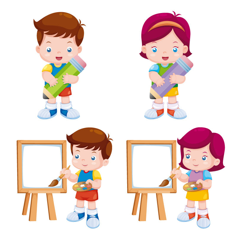 Children Cartoon Drawing At Getdrawingscom Free For Personal Use - Toddler-cartoon-characters