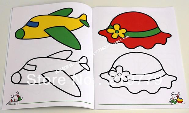 619x371 2018 2128.5cm Kids Coloring Book Drawing Books Painting Toy