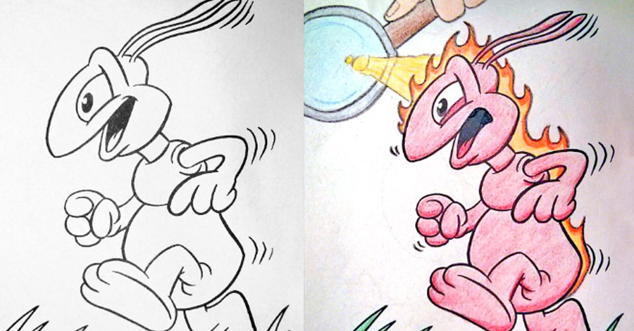 900x471 Hilarious Coloring Books For Children Seen From Adults' Corrupted