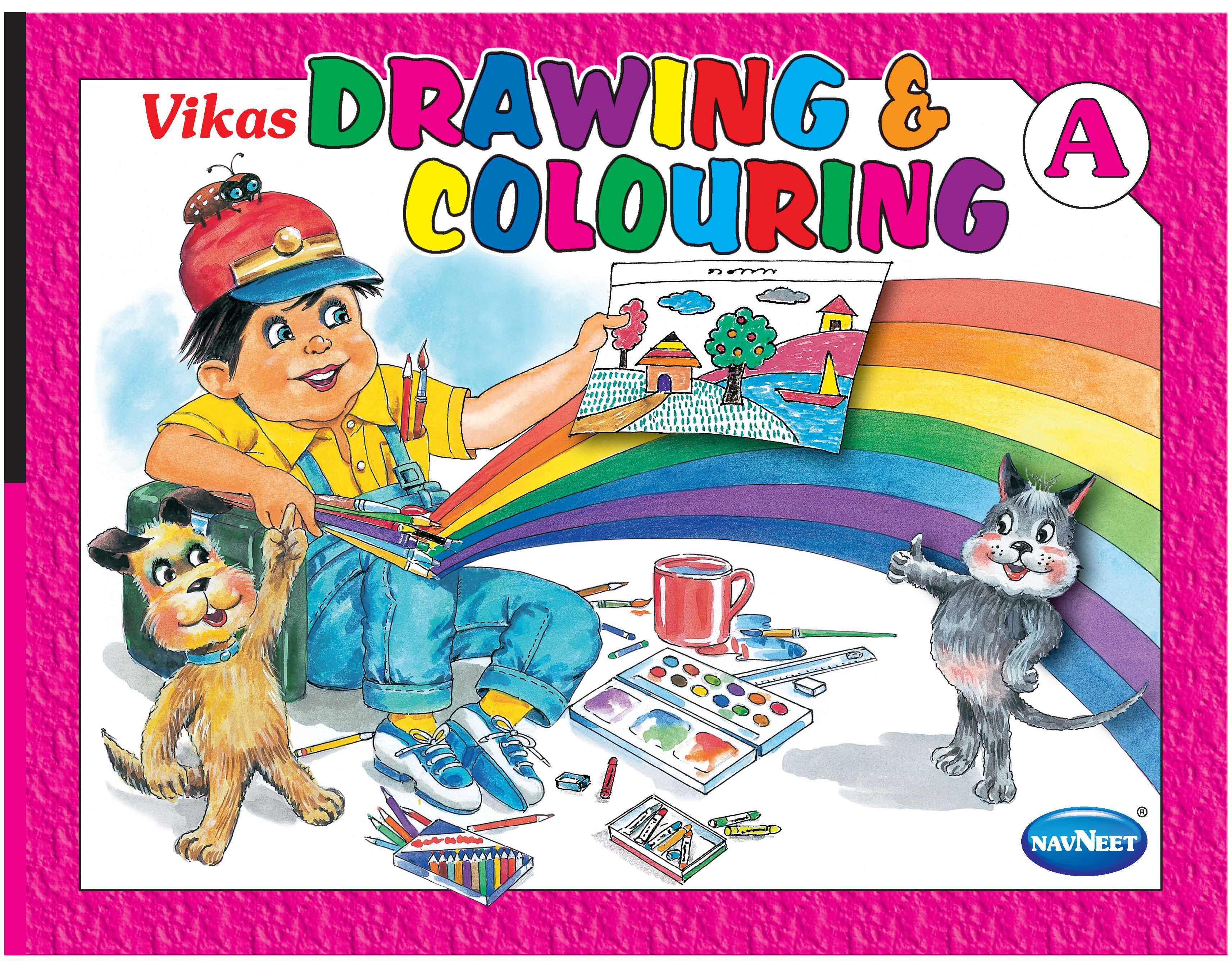 3425x2692 Vikas Drawing Amp Colouring ( A Series Of 3 Books )