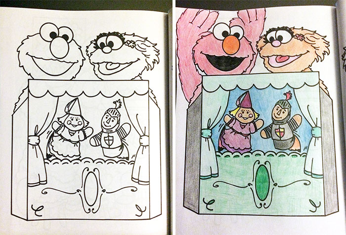 700x477 Times Adults Did Coloring Books For Kids, And The Result Was