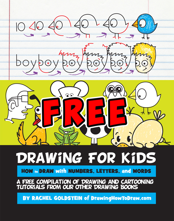 600x762 Free Drawing Activity Book For Kids