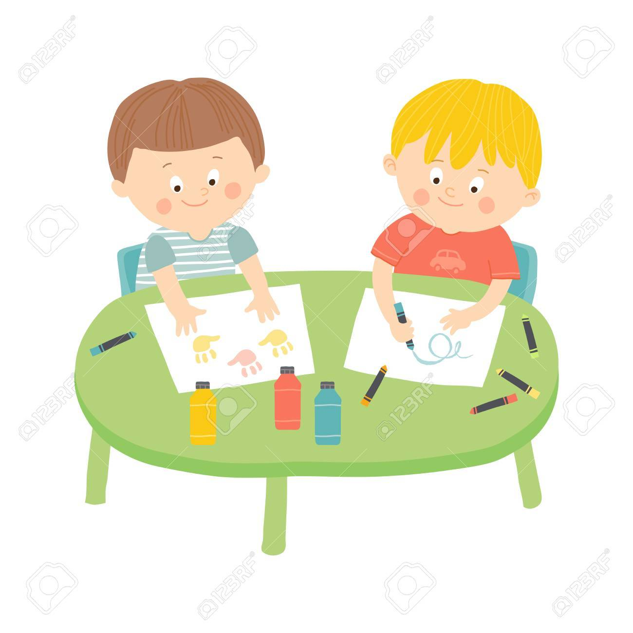 Children Drawing Clip Art at GetDrawings.com | Free for personal use ...