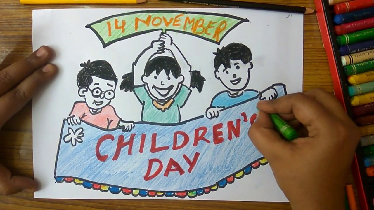 Childrens Day Drawing at GetDrawings.com | Free for personal use ...