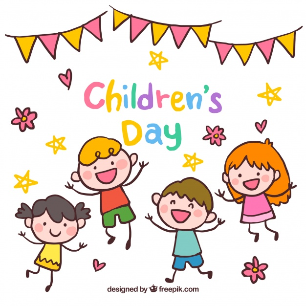 626x626 Happy Childrens Day Design Vector Free Download