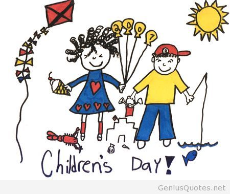 450x379 Life Children's Day Drawing
