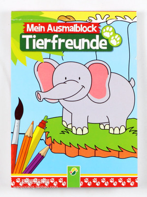 299x400 Baby Coloring Books For Fun Children's Drawing Toy About Animals 6