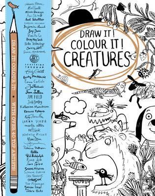 316x400 Draw It! Colour It! Creatures Macmillan Children's Books