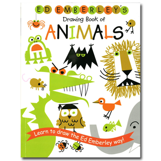 320x320 Ed Emberley's Drawing Book Of Animals Book A Day Almanac