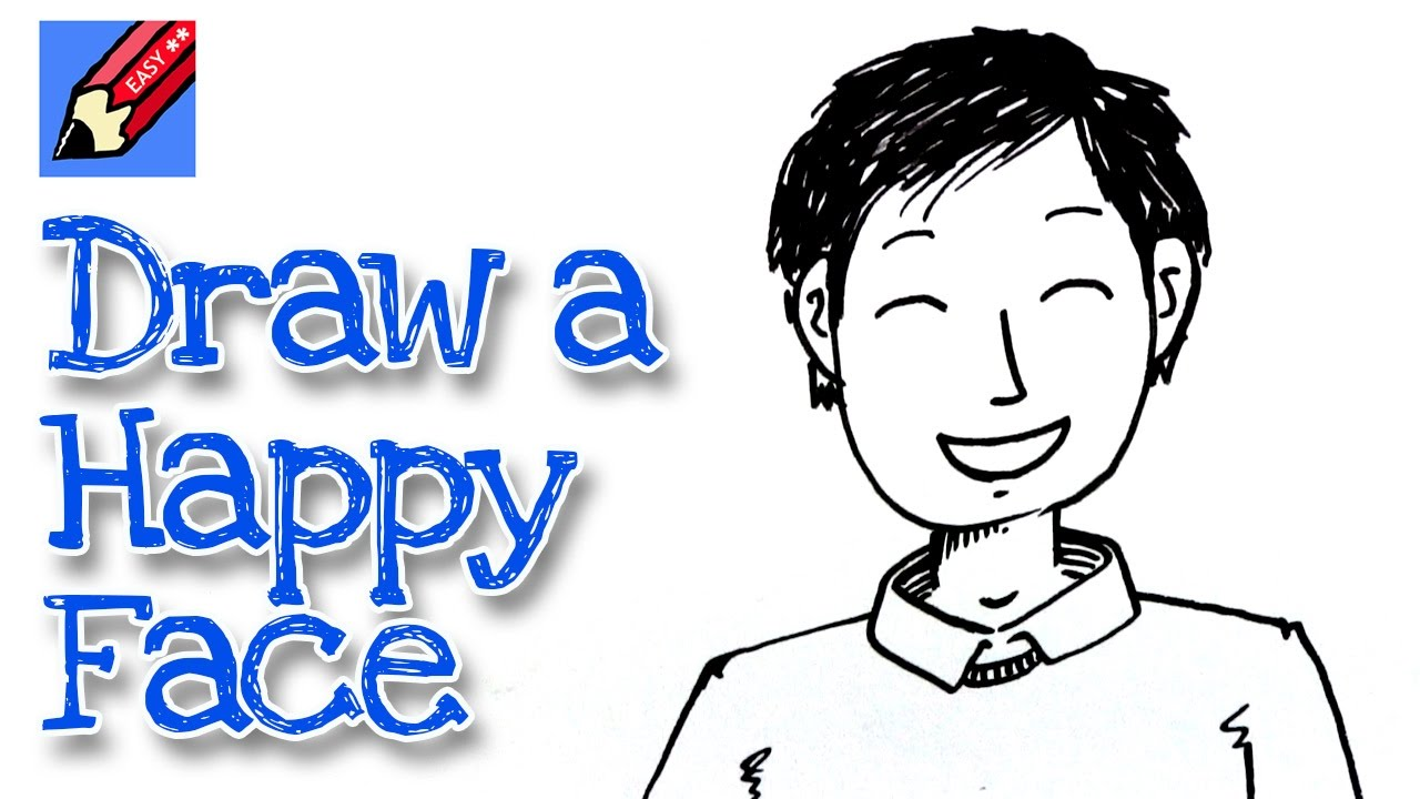 1280x720 How To Draw A Happy Face