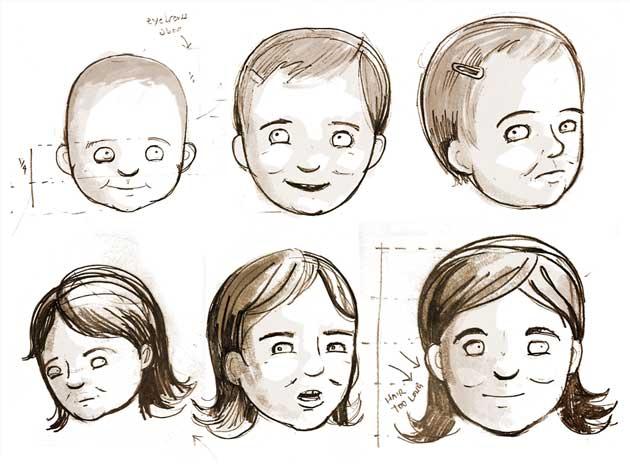 630x464 Phil Alderson Illustration Martha Sketches