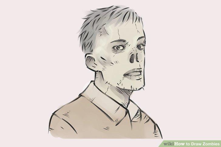728x485 4 Ways To Draw Zombies