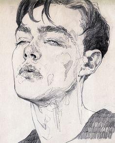 236x292 Edward Cullen Pencil By On @