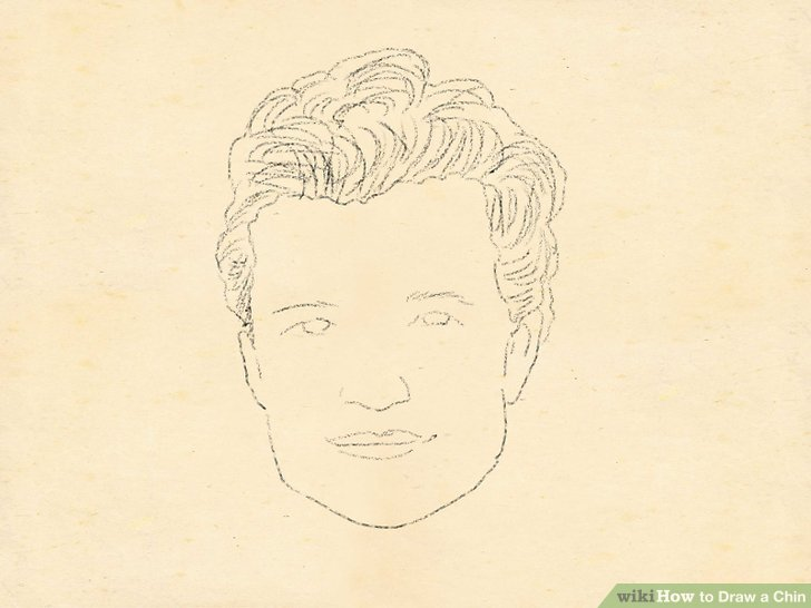 728x546 How To Draw A Chin 5 Steps (With Pictures)