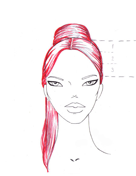 450x582 How To Draw The Face I Draw Fashion