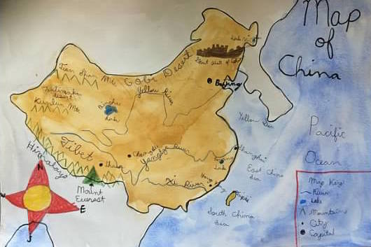 China Map Drawing at GetDrawings.com   Free for personal use China ...