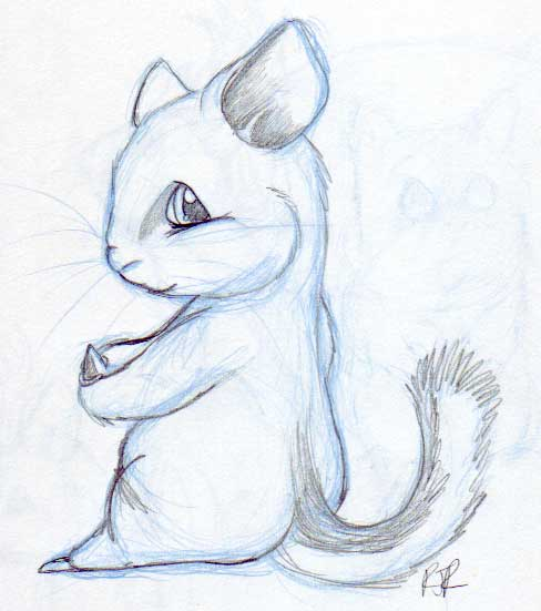 488x551 Chinchilla Art For Chibilink By Catgir